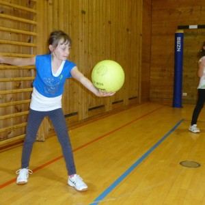 Mini Volleyball 2015……die Volleyball Stars von morgen beim Training